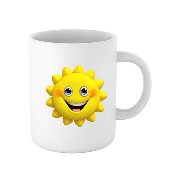 ماگ طرح خورشید کد 1372