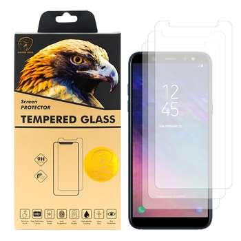 محافظ صفحه نمایش گلدن ایگل مدل GLC-X3 مناسب برای گوشی موبایل سامسونگ Galaxy A6 2018 بسته سه عددی