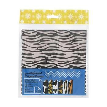 کاغذ اوریگامی طرح حیوانات بسته 60 عددی