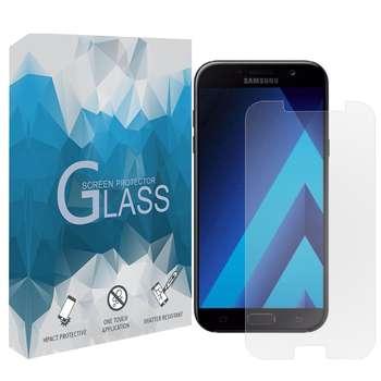 محافظ صفحه نمایش مدل TGSP مناسب برای گوشی موبایل سامسونگ Galaxy A7 2017