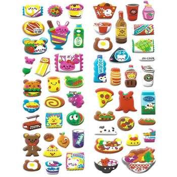 استیکر کودک طرح خوراکی مدل j028