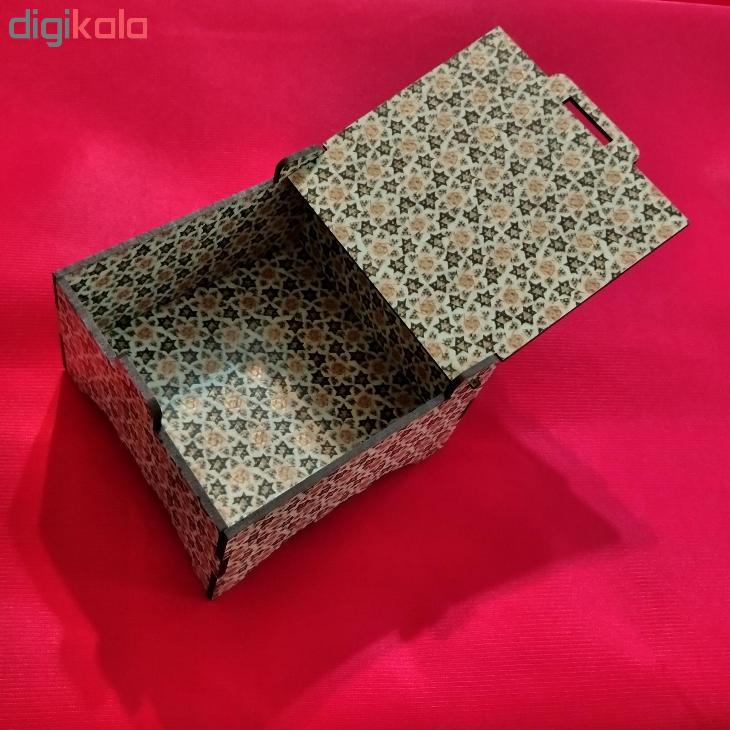 خرید                      جعبه هدیه طرح خاتم کد 1131