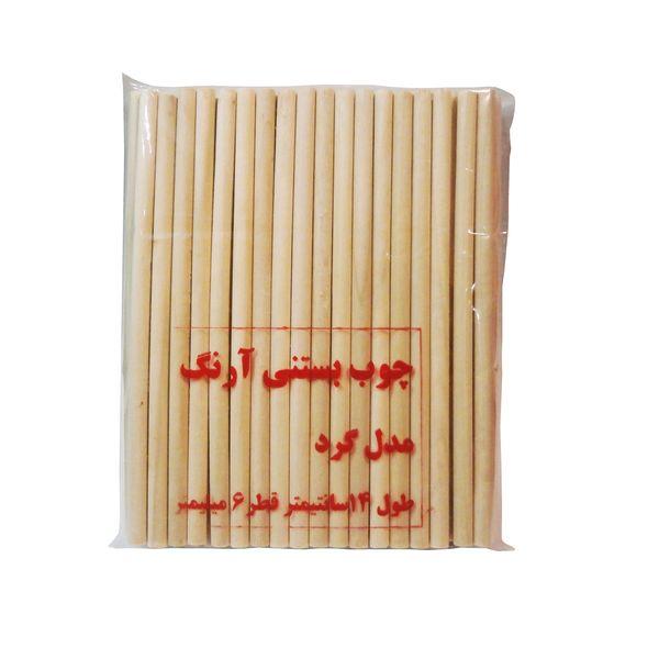 چوب بستنی  آرنگ مدل GRD1406_80 بسته 80 عددی