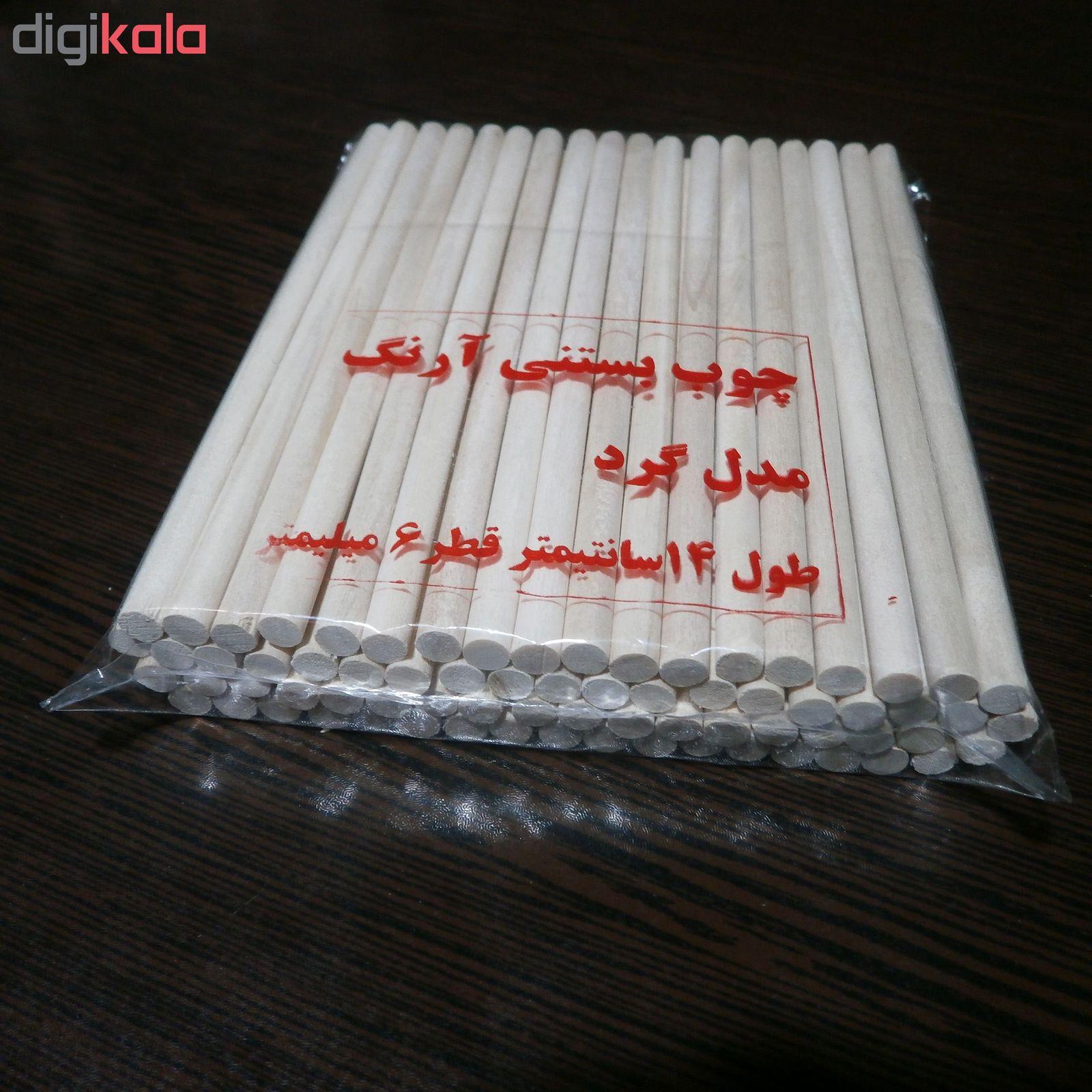 چوب بستنی  آرنگ مدل GRD1406_80 بسته 80 عددی main 1 1