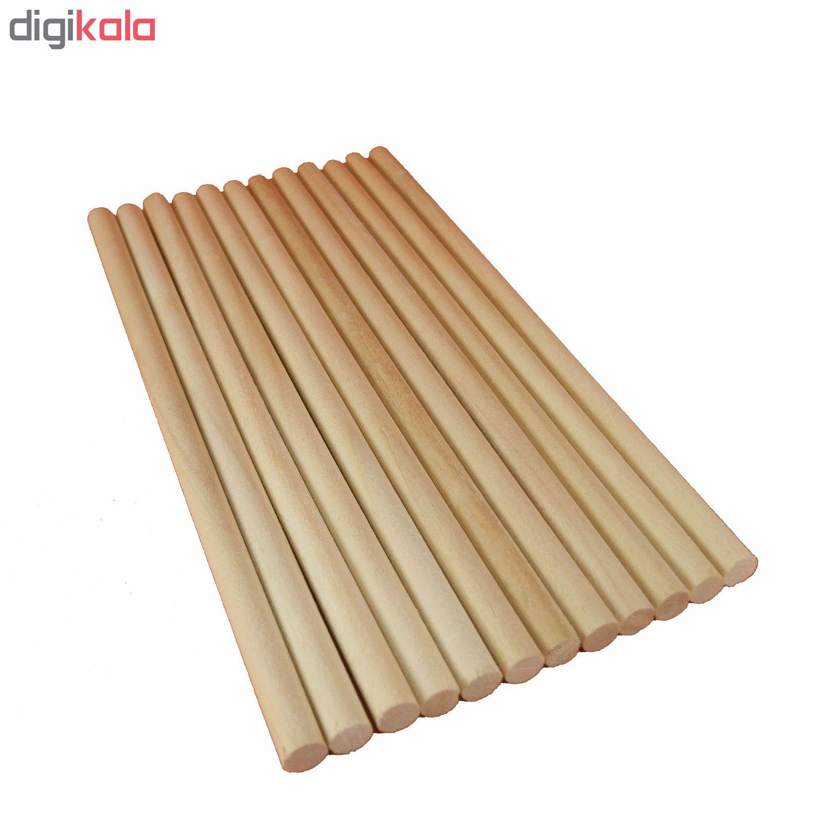 چوب بستنی  آرنگ مدل GRD1406_80 بسته 80 عددی main 1 2