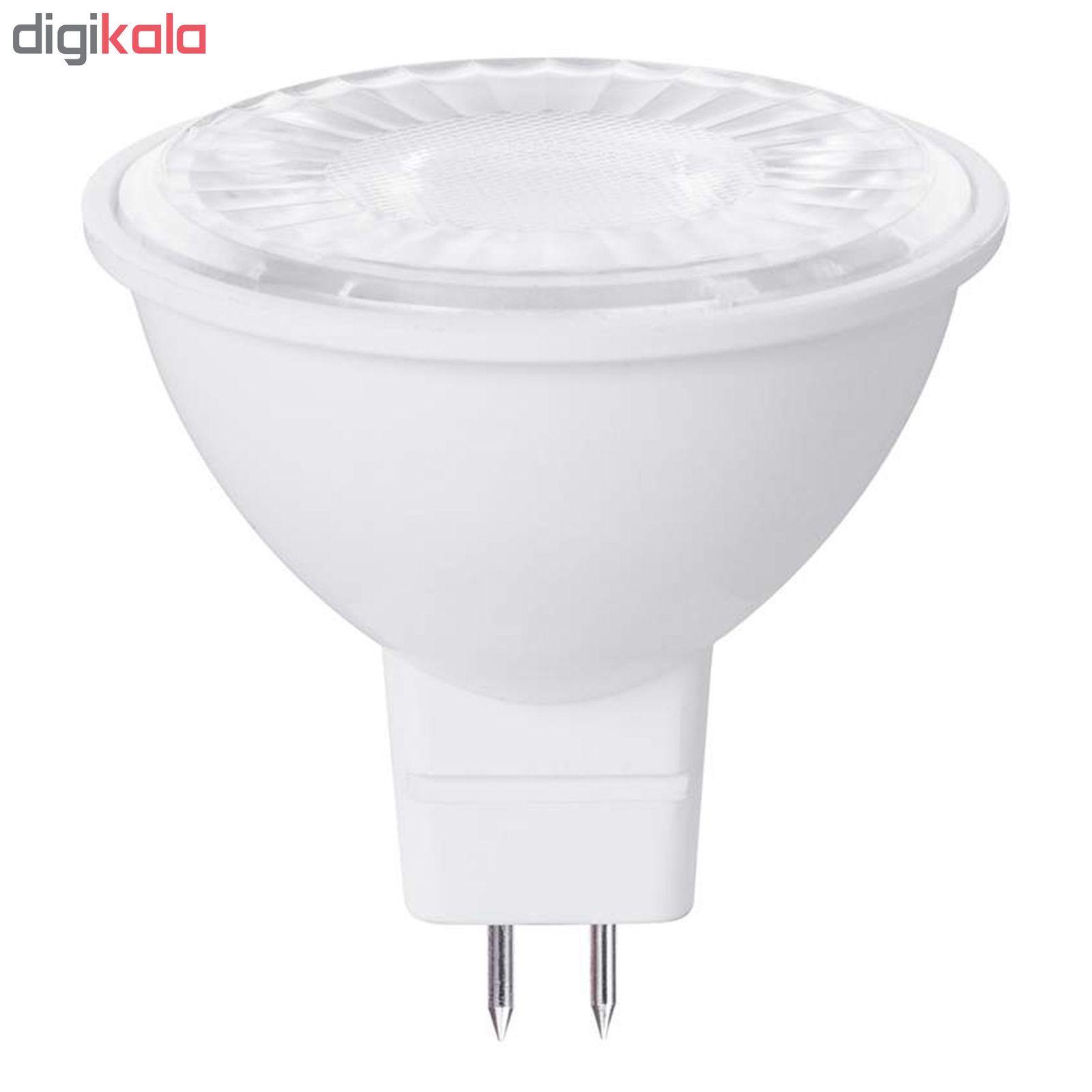 لامپ هالوژن 7 وات مدل FRQ پایه GU5.3 بسته 10 عددی main 1 1