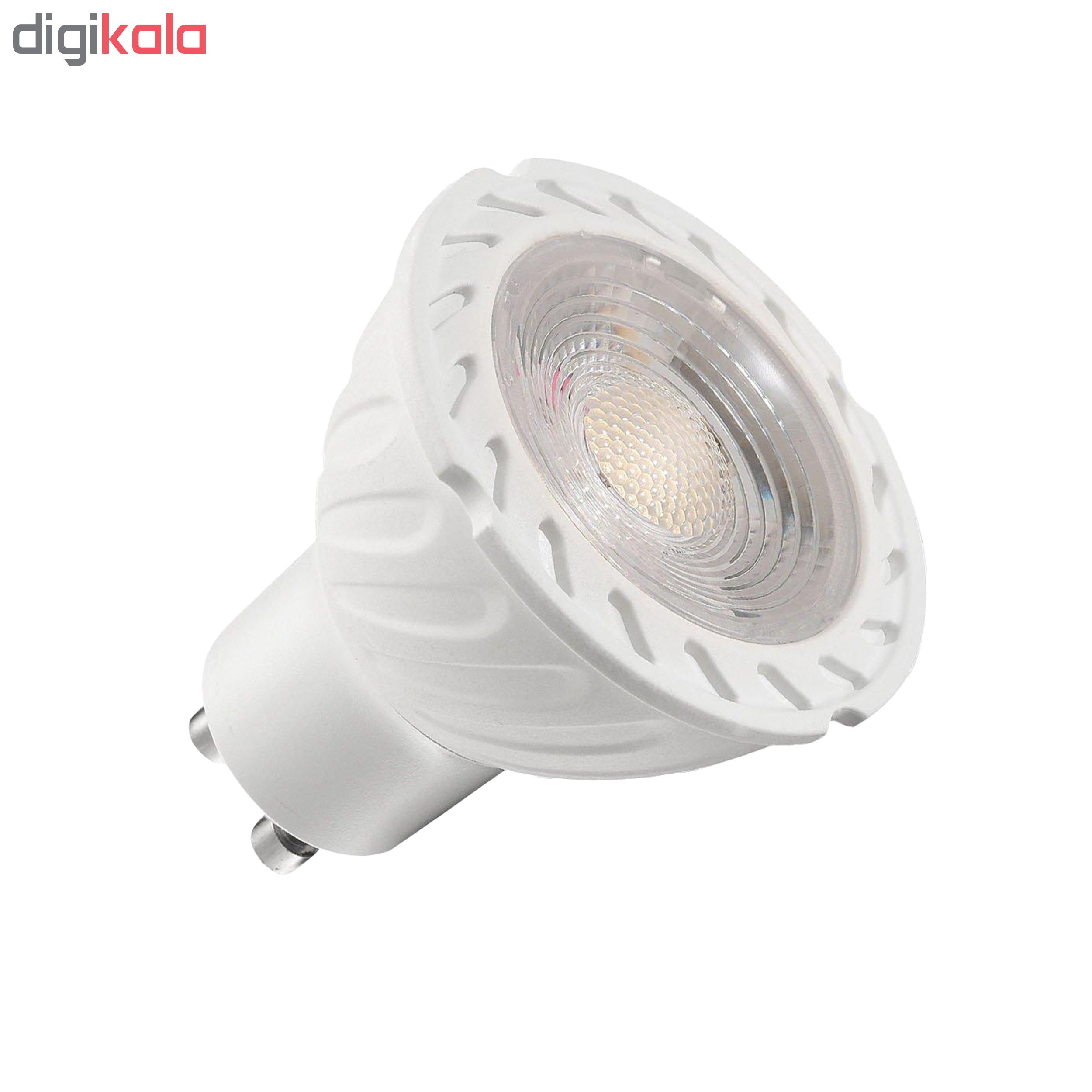 لامپ هالوژن 7 وات مدل GOL-001 پایه GU10