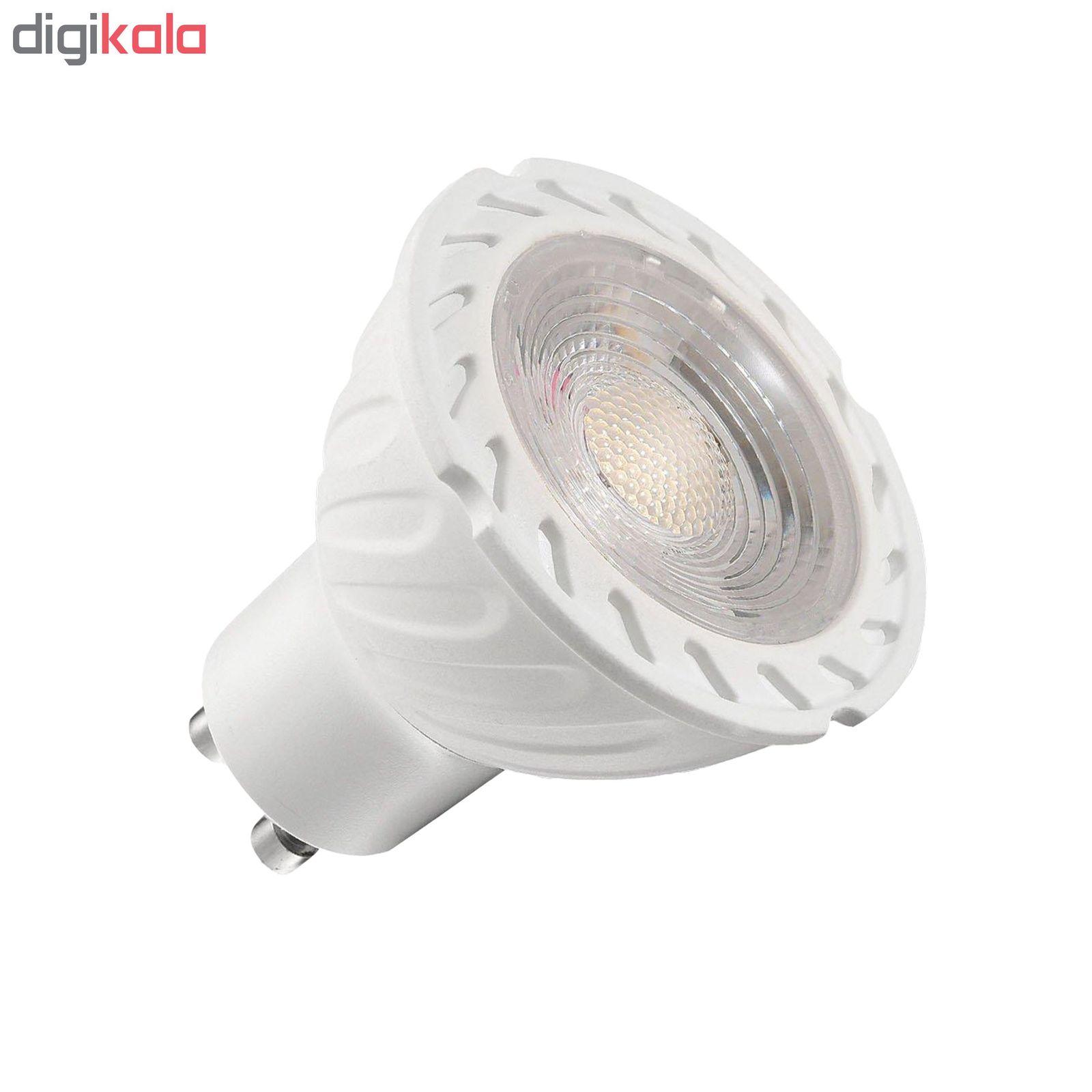 لامپ هالوژن 7 وات مدل GOL-010 پایه GU10 بسته 10 عددی main 1 1