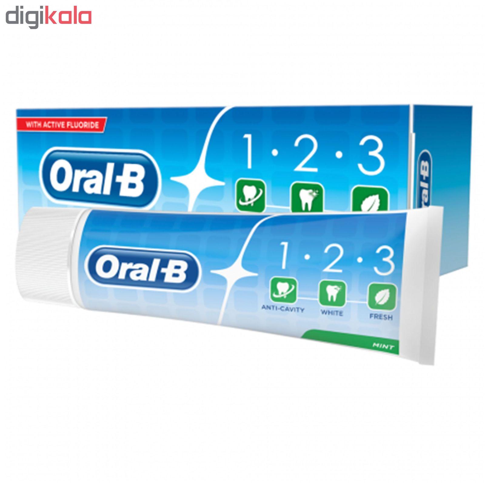 خمیر دندان اورال- بی مدل 1.2.3 حجم 100 میلی لیتر main 1 3