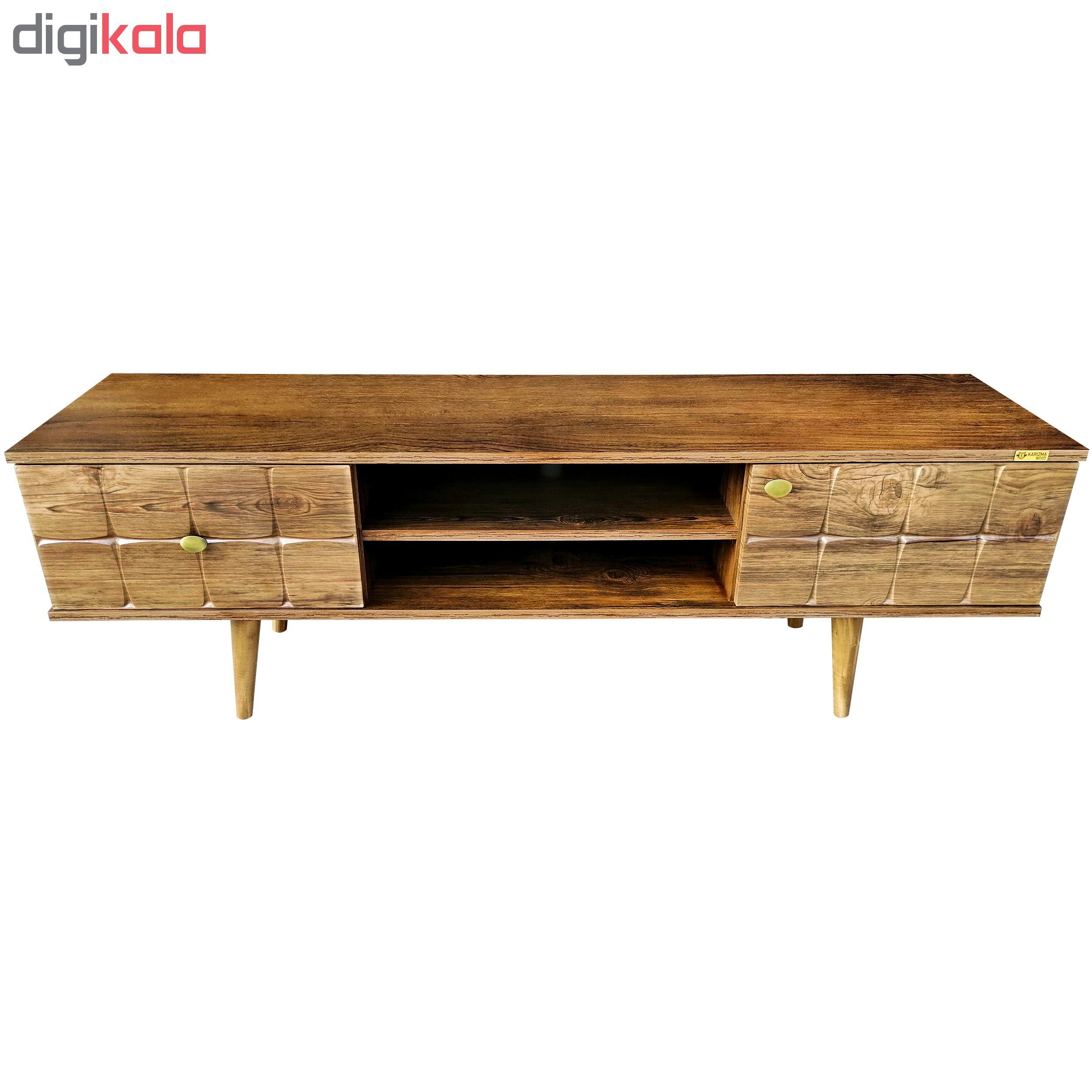 میز تلویزیون کاریزما وود مدل A213