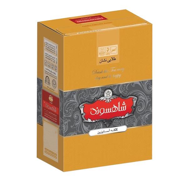 چای طلایی نشان شاهسوند مقدار 454 گرم