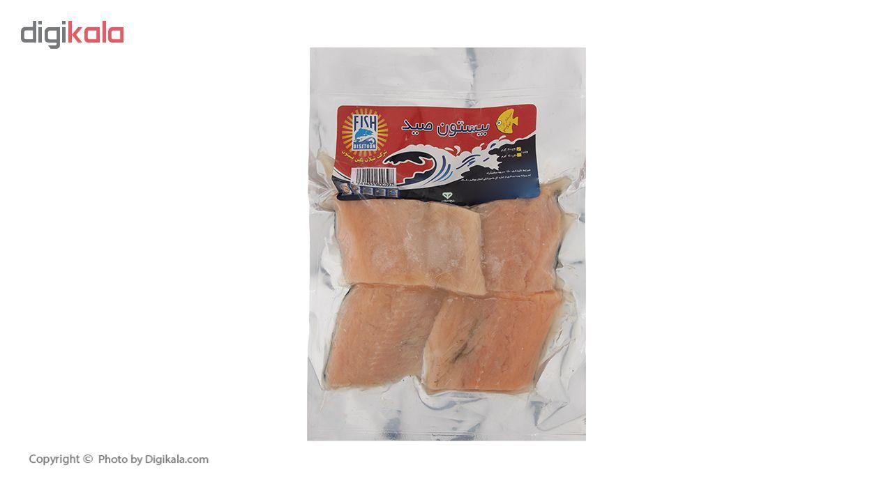 فیله قزل آلا سالمون منجمد بدون استخوان بیستون مقدار 600 گرم main 1 2
