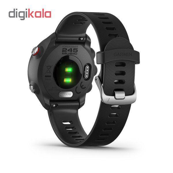 ساعت هوشمند گارمین مدل forerunner 245 music main 1 5