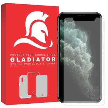 محافظ صفحه نمایش گلادیاتور مدل GLI1000 مناسب برای گوشی موبایل اپل Iphone 11 Pro