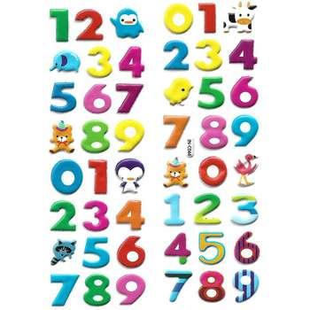 استیکر کودک طرح اعداد مدل j044