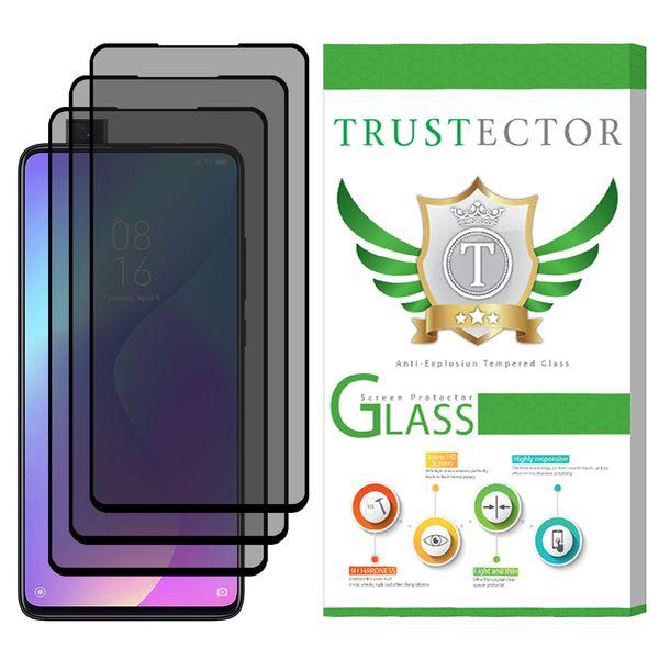 محافظ صفحه نمایش حریم شخصی تراستکتور مدل PSP مناسب برای گوشی موبایل شیائومی Redmi K20 / Redmi K20 Pro بسته 3 عددی