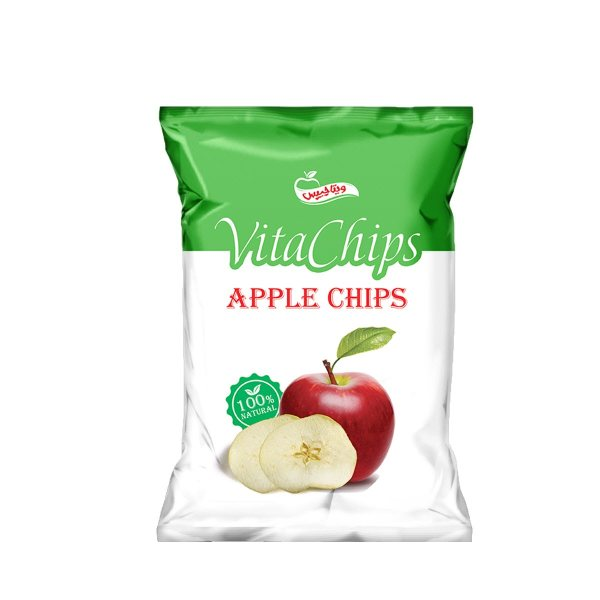 چیپس سیب ویتاچیپس مقدار 40 گرم