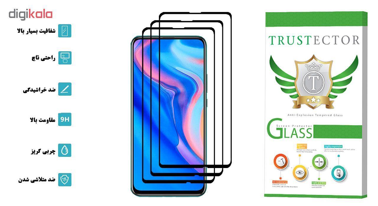 محافظ صفحه نمایش تراستکتور مدل GSS مناسب برای گوشی موبایل هوآوی Y9 Prime 2019 بسته 3 عددی main 1 2