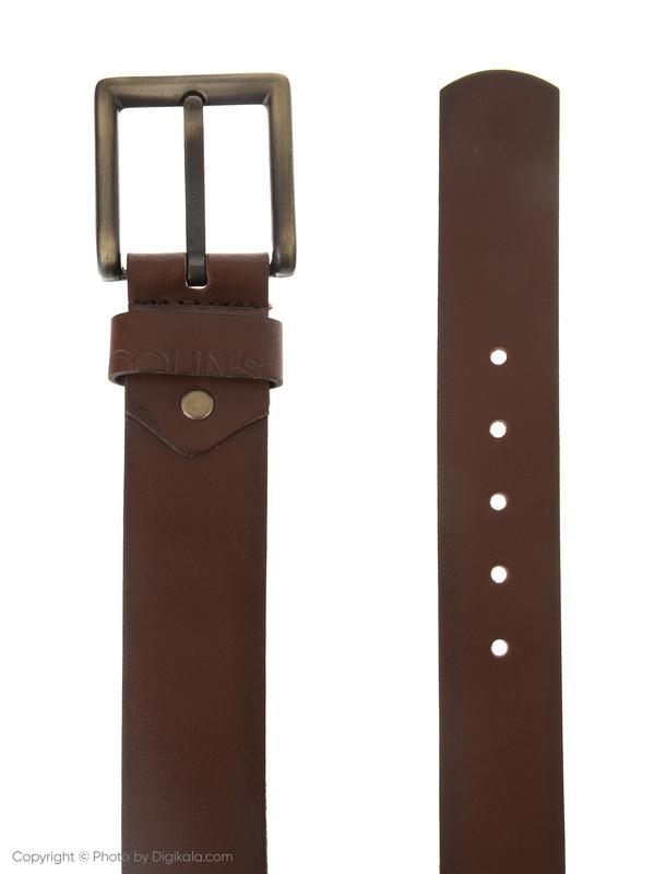 کمربند مردانه کالینز مدل CL1033155-Brown