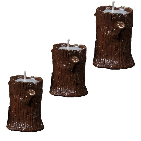 شمع طرح درخت مجموعه 3 عددی