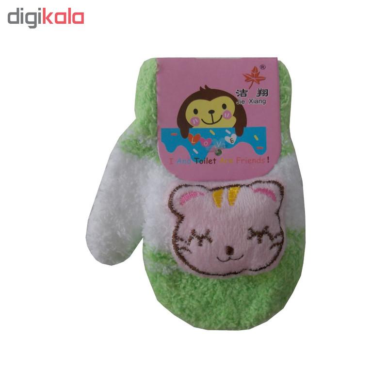 دستکش دخترانه طرح عروسک کد GO-20709