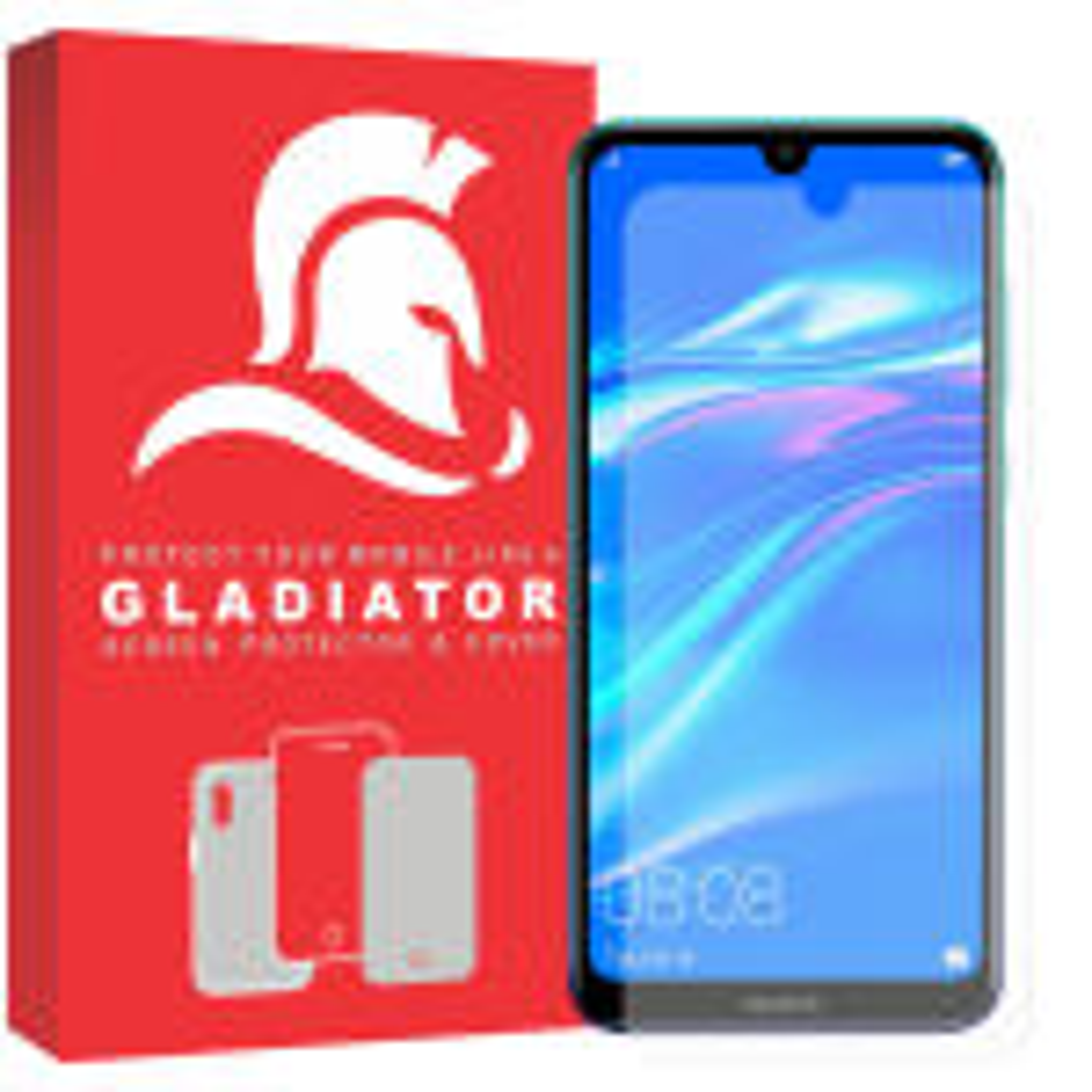 محافظ صفحه نمایش گلادیاتور مدل GLH1000 مناسب برای گوشی موبایل هوآوی Y7 Pro 2019 thumb
