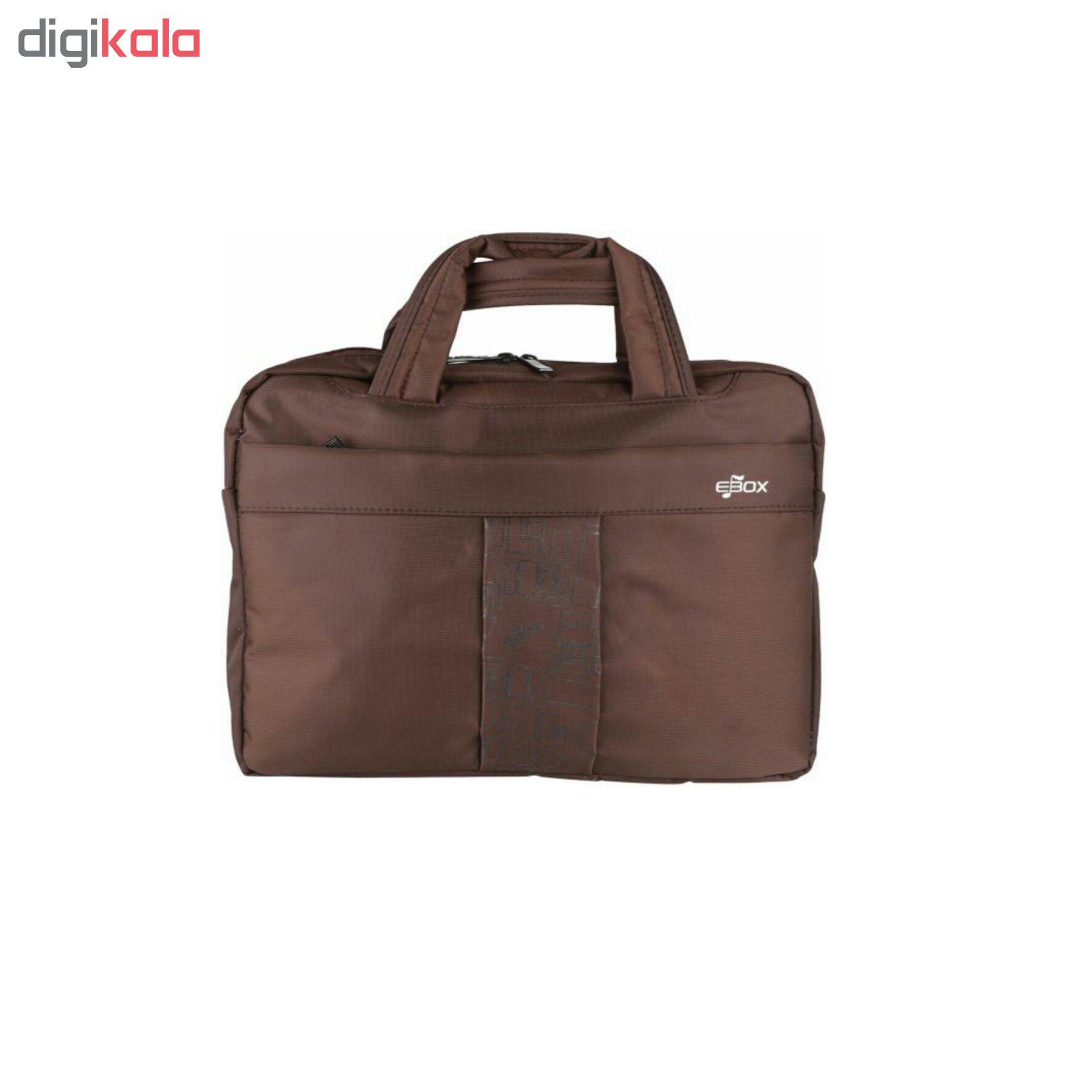 کیف لپ تاپ ای باکس مدل 1010 مناسب برای لپ تاپ 16 اینچی