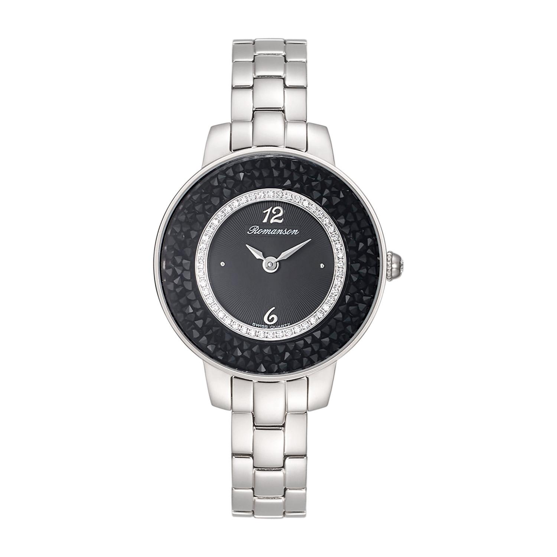 ساعت مچی عقربه ای زنانه رومانسون کد RM7A29QLWWA3R1
