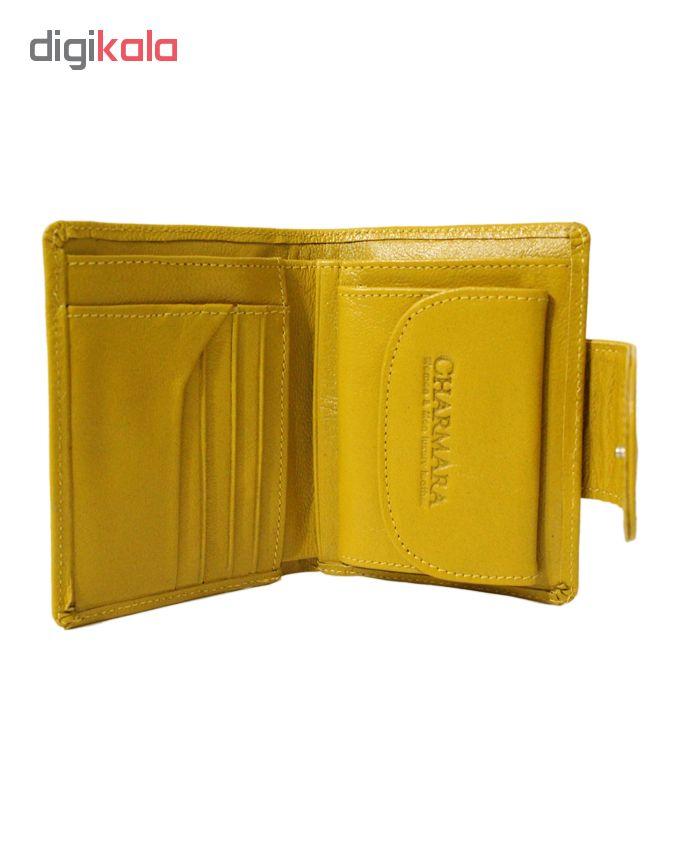 کیف پول چرم آرا مدل n021