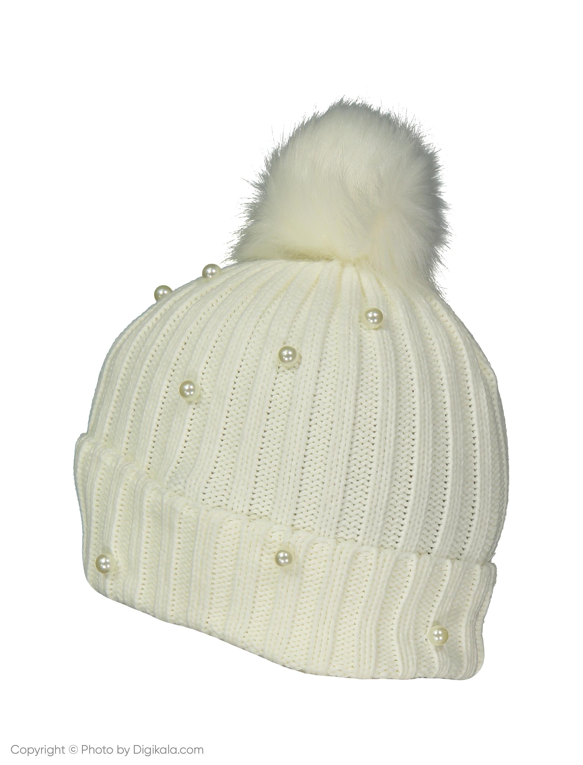 کلاه زنانه کالینز مدل CL1036881-White