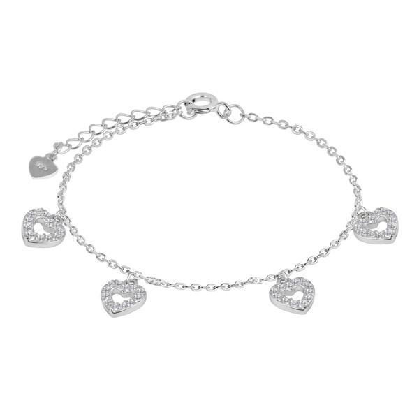 دستبند نقره زنانه اقلیمه کد DN452