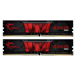 رم دسکتاپ DDR4 دو کاناله 3200 مگاهرتز CL16 جی اسکیل مدل aegis ظرفیت 16 گیگابایت