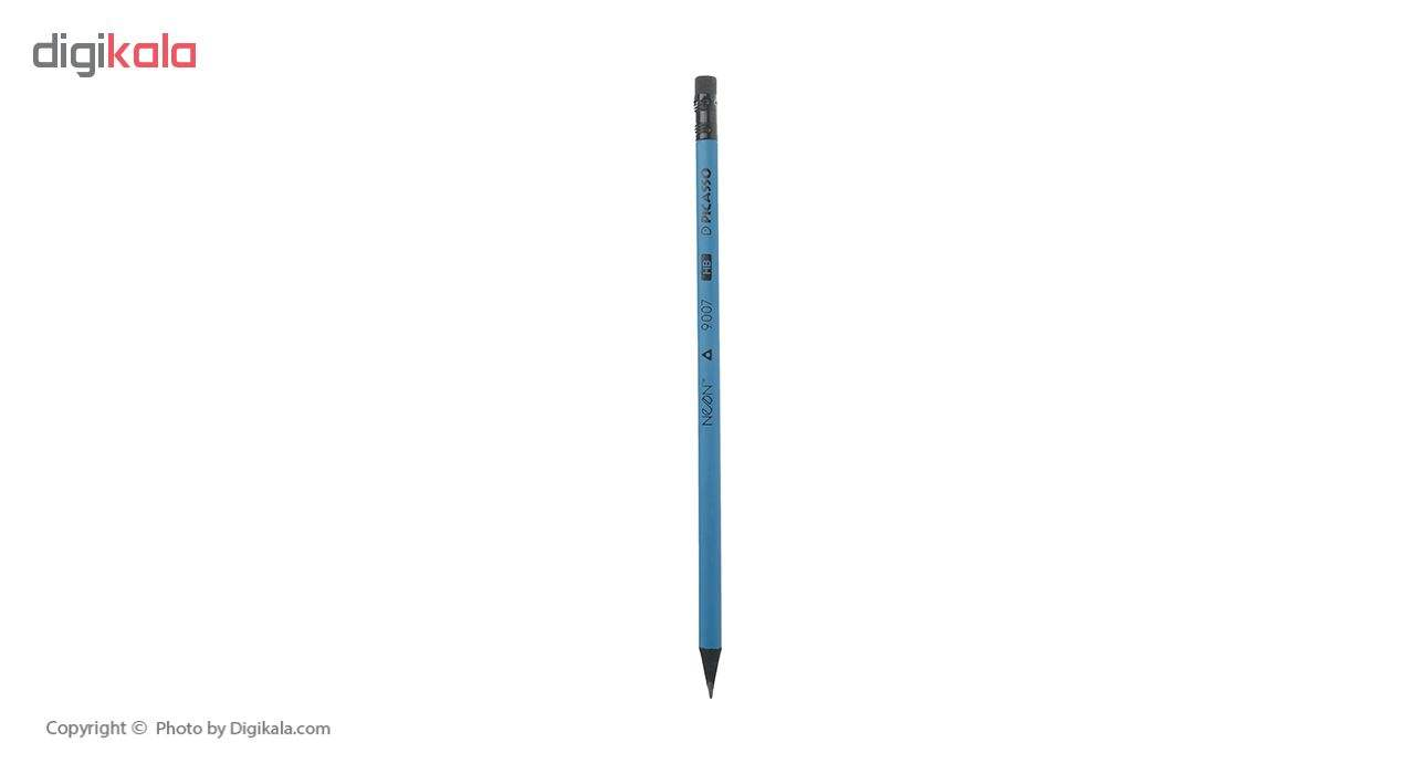 مداد مشکی نئون پیکاسو مدل 18E1146 بسته 12 عددی main 1 4