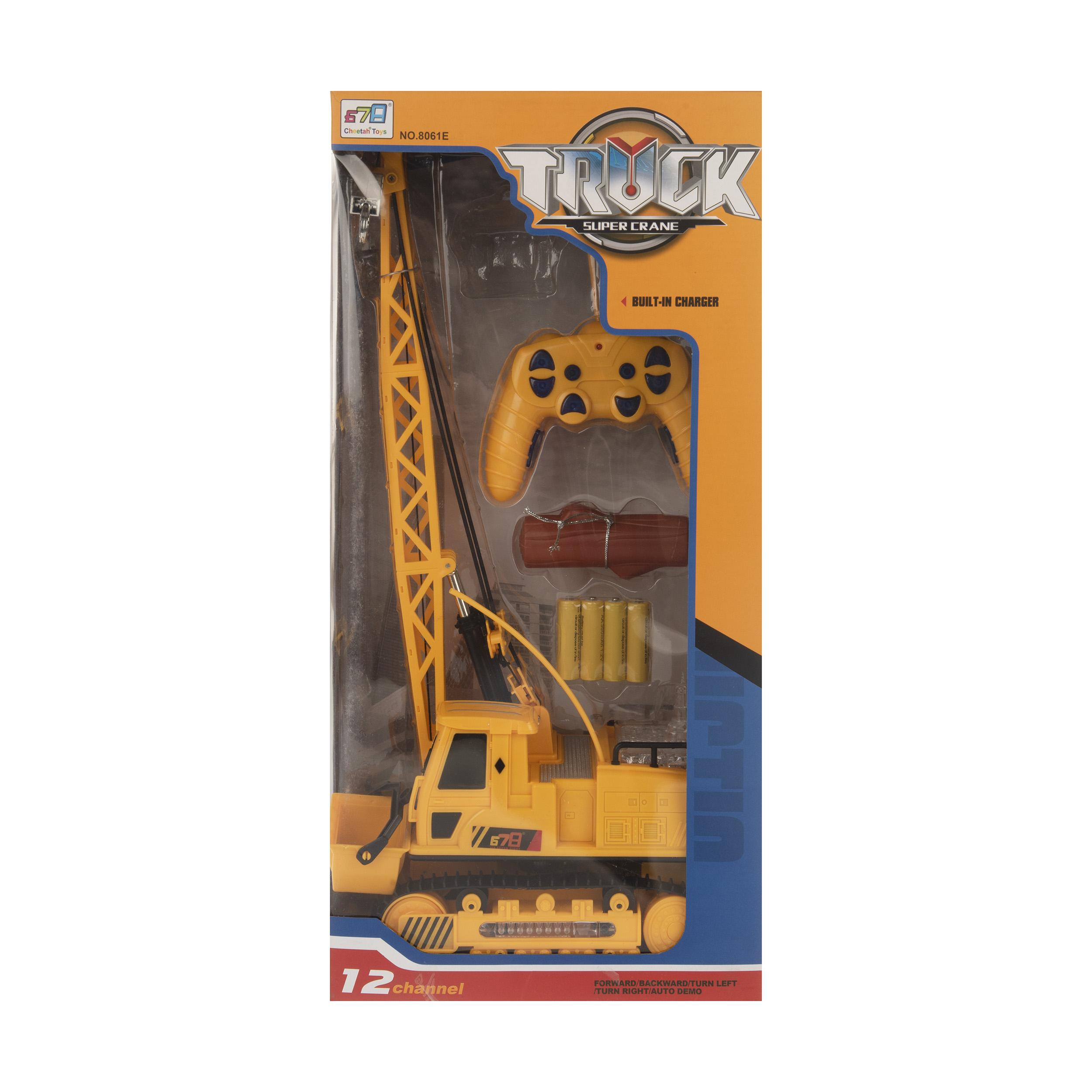 جرثقیل اسباب بازی چیتا مدل 8061E