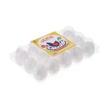 تخم مرغ غنی شده امگا 3 تلاونگ بسته 15 عددی