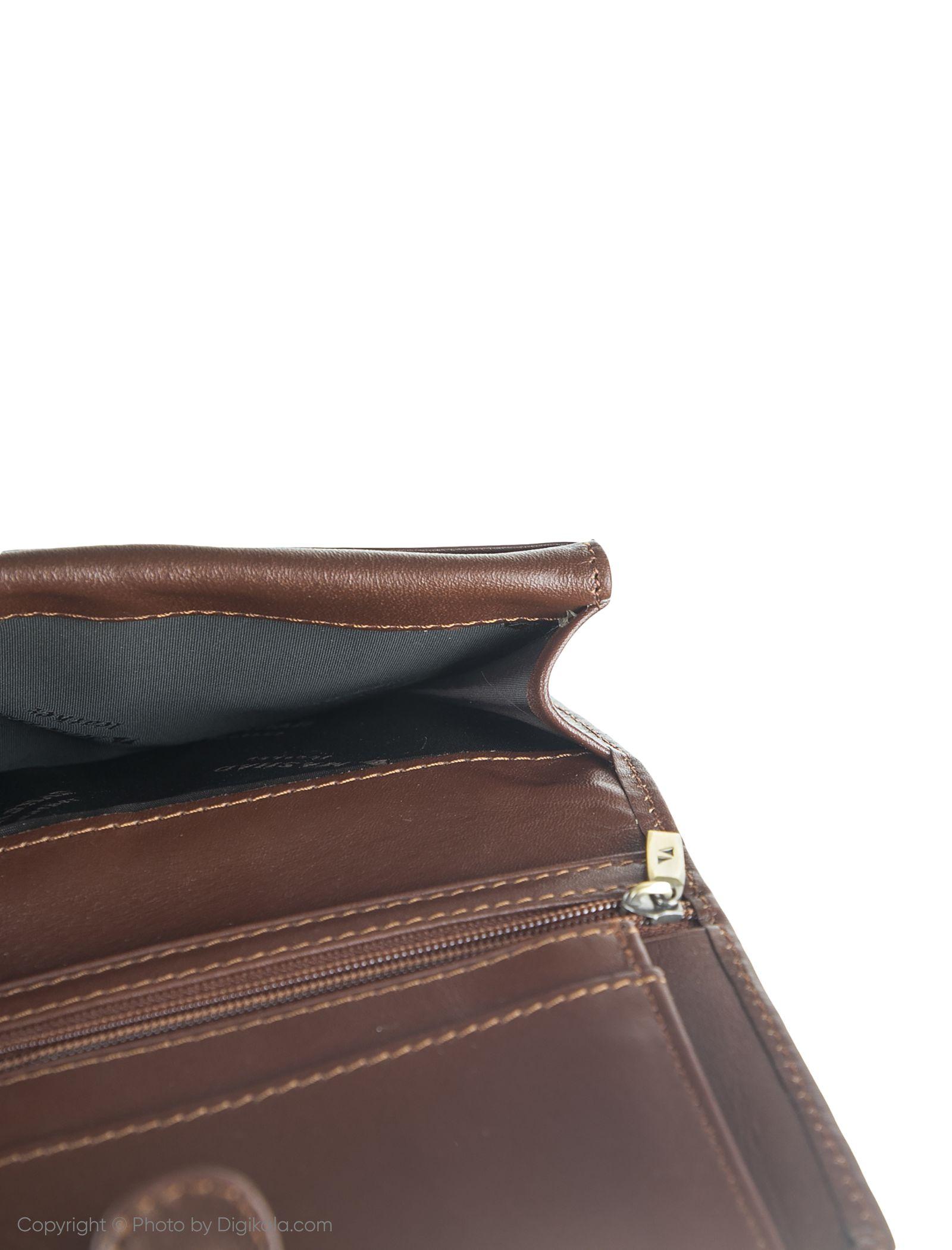 کیف پول مردانه چرم مشهد مدل D552 -  - 7