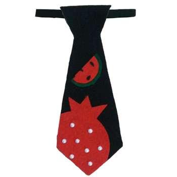 کراوات پسرانه طرح هندوانه مدل 107