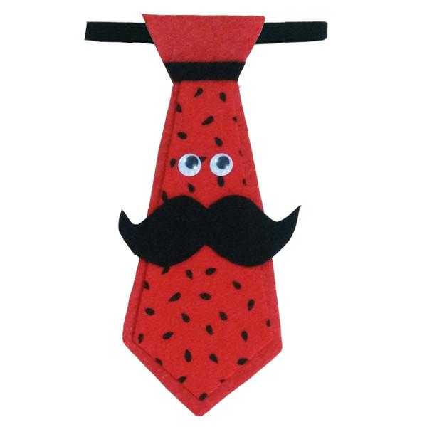 کراوات پسرانه طرح هندوانه مدل 109