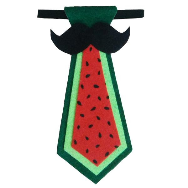 کراوات پسرانه طرح هندوانه مدل 110