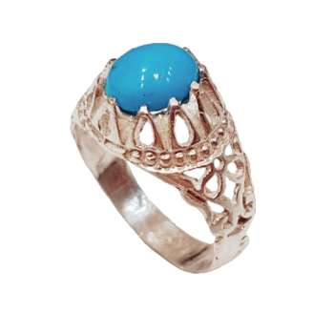 انگشتر نقره مردانه کد p0206