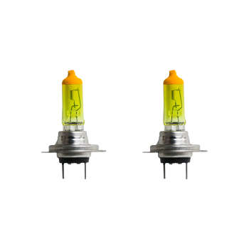 لامپ هالوژن خودرو مدل YH07CL بسته دو عددی