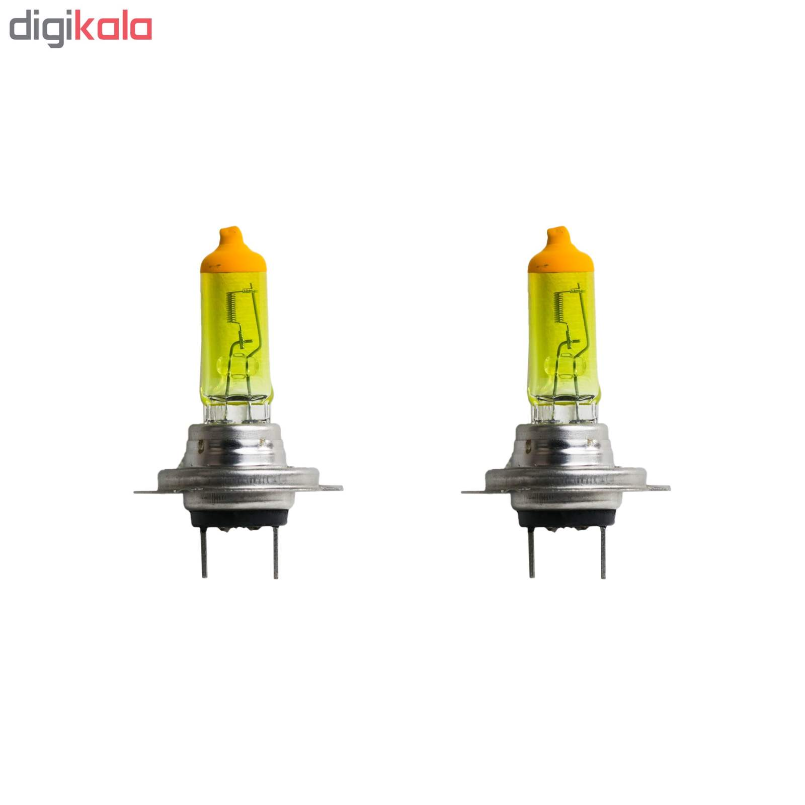 لامپ هالوژن خودرو مدل YH07CL بسته دو عددی main 1 1