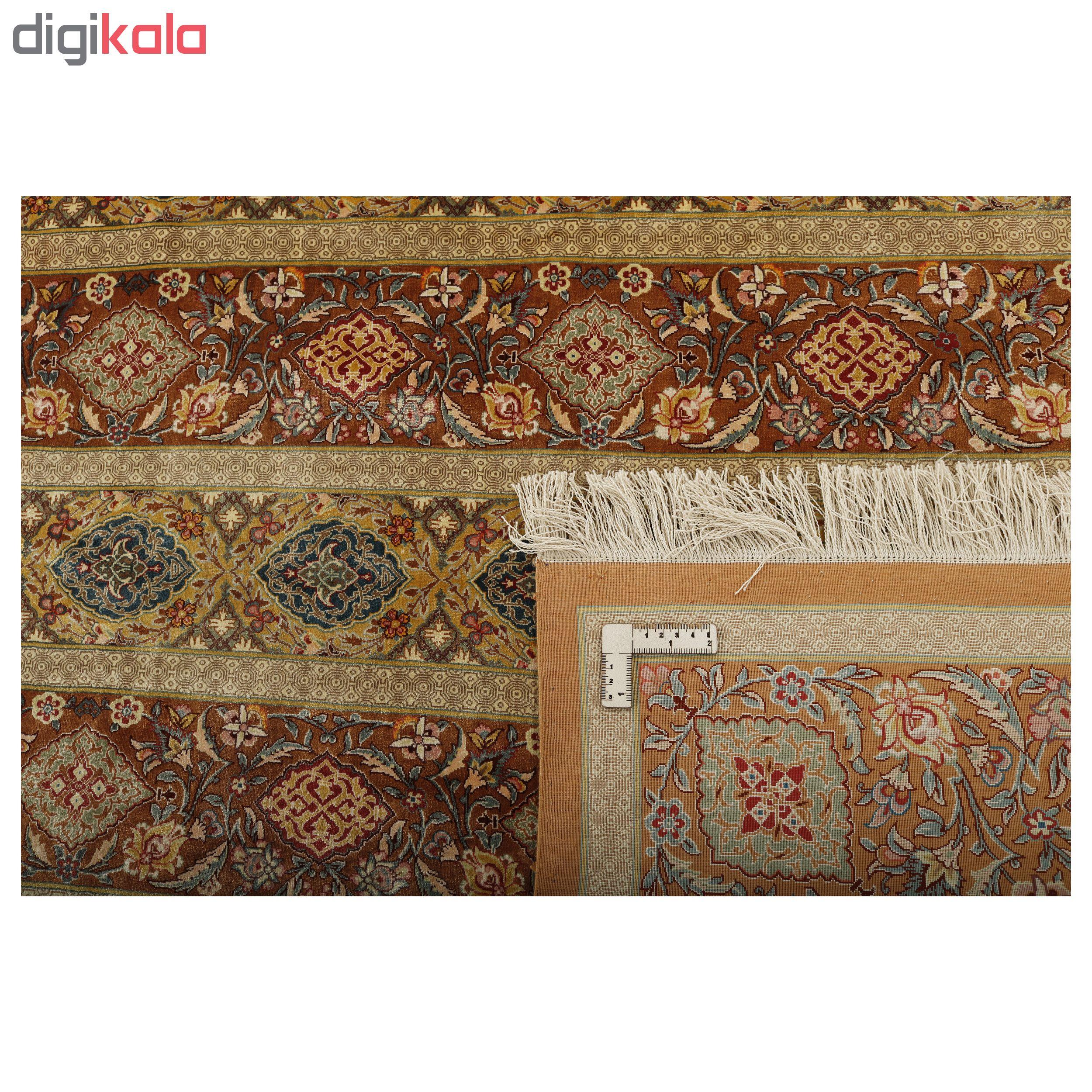 خرید                       فرش دستبافت شش متری مدل محرمات کد 2011