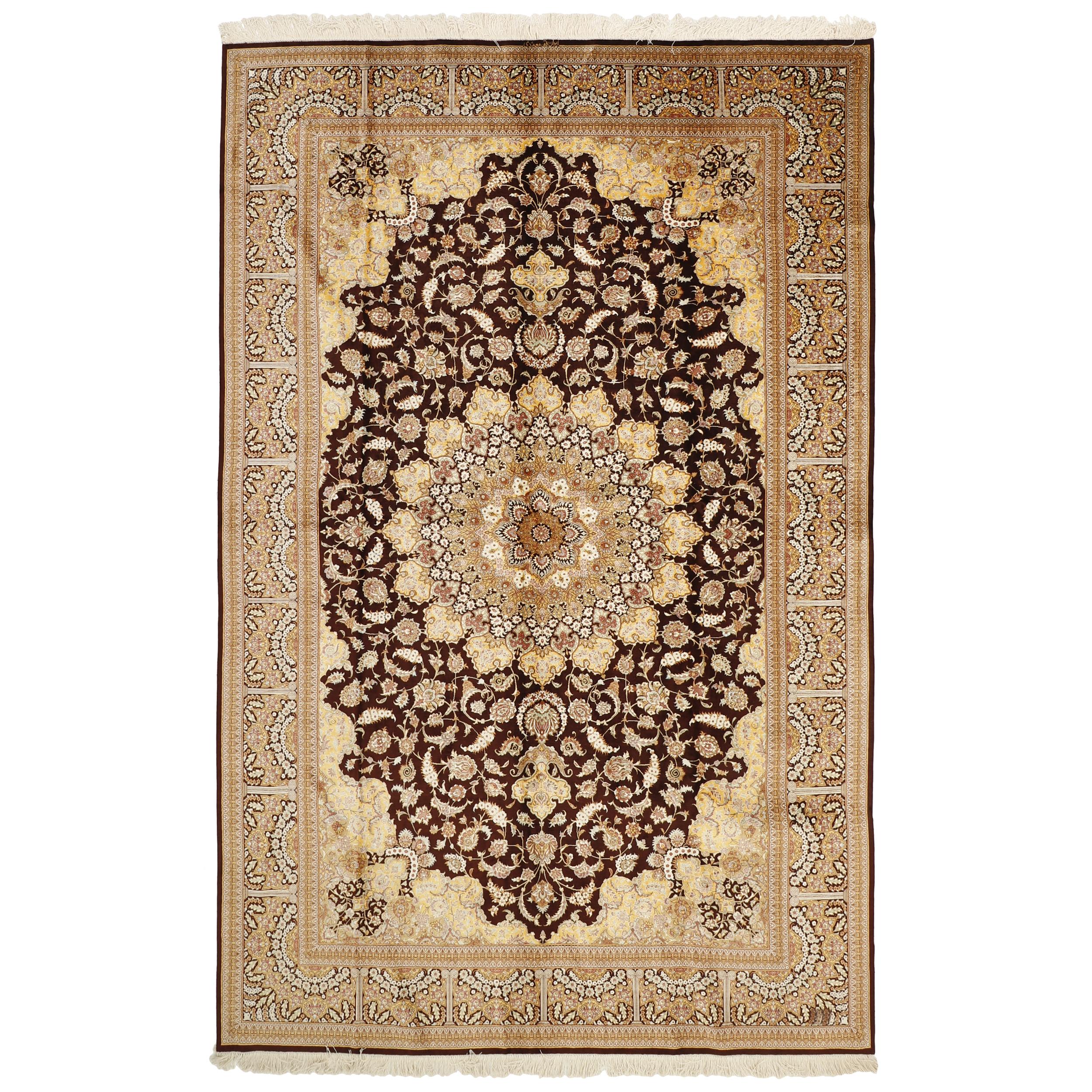 فرش دستبافت شش متری مدل 1551