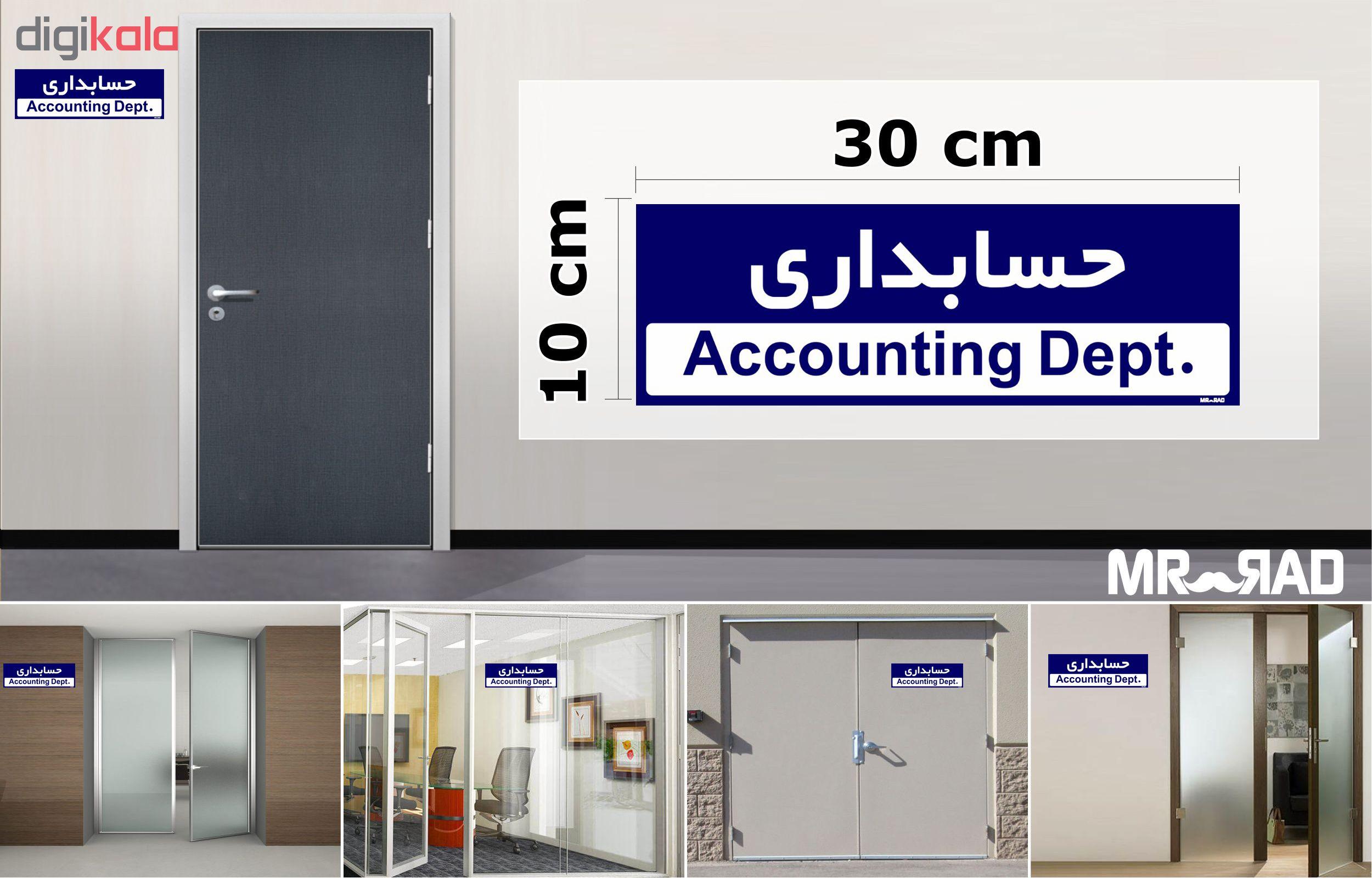 تابلو راهنمای اتاق  FG طرح حسابداری کدTHO0216