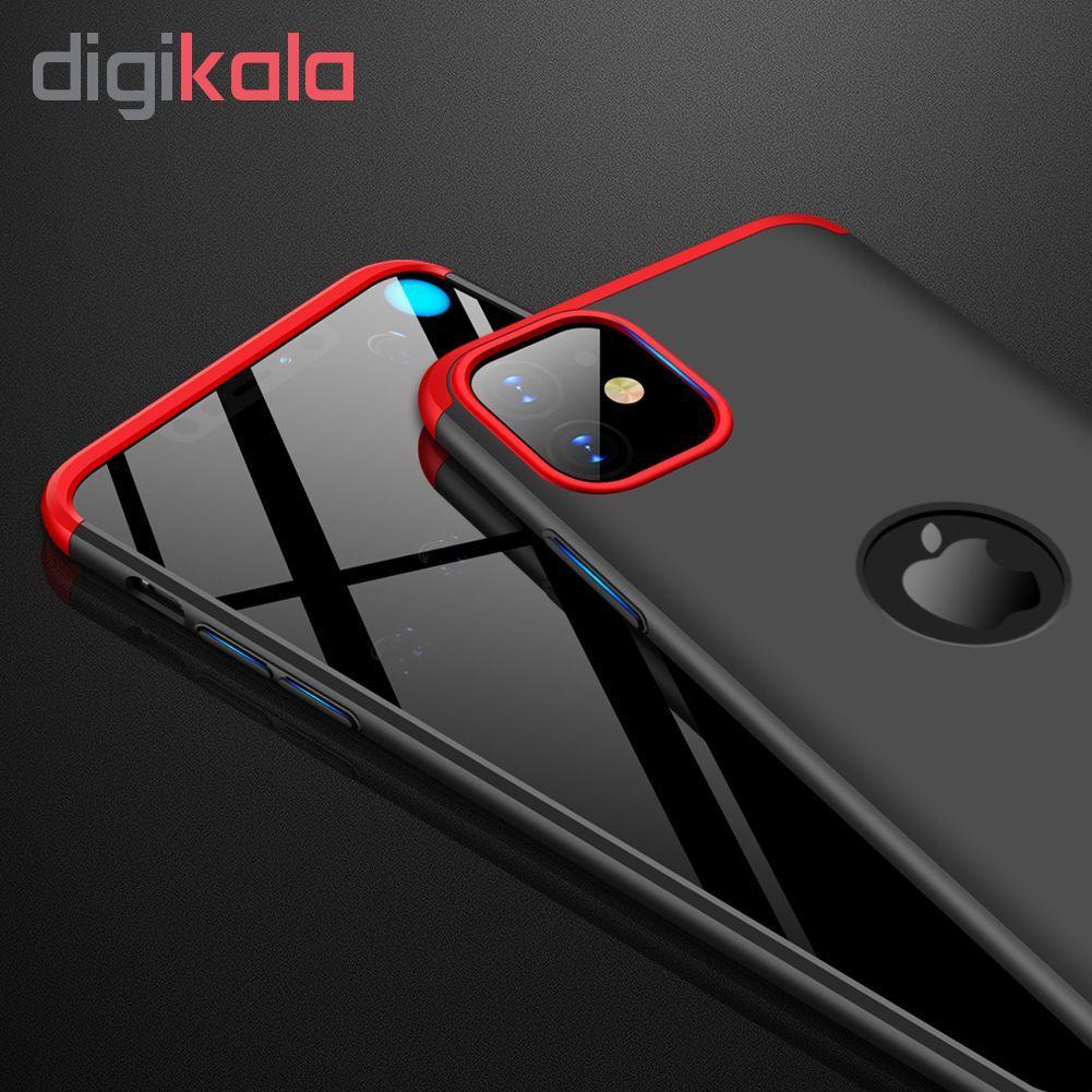 کاور 360 درجه جی کی کی مدل GKIP11 مناسب برای گوشی موبایل اپل Iphone 11