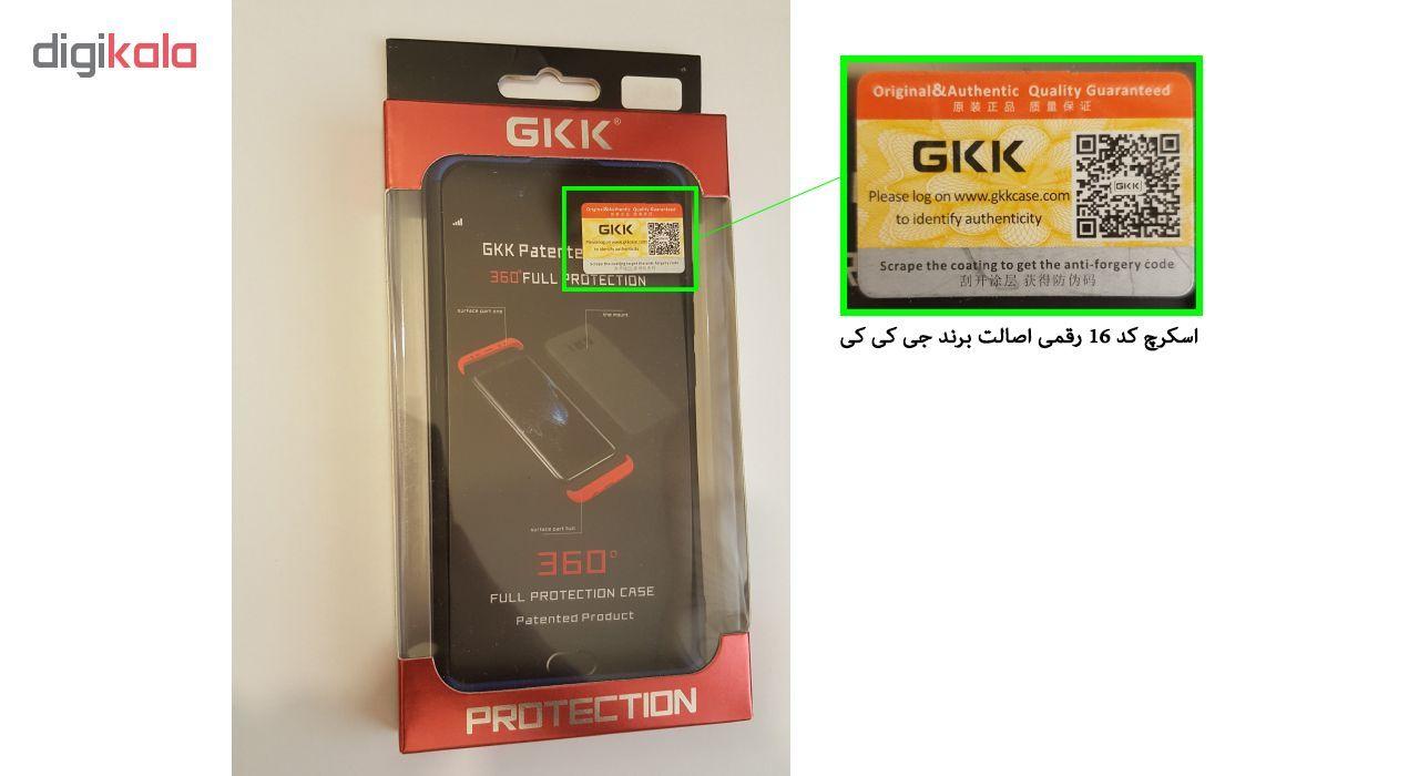 کاور 360 درجه جی کی کی مدل GKN8 مناسب برای گوشی موبایل شیائومی Redmi Note 8 main 1 7