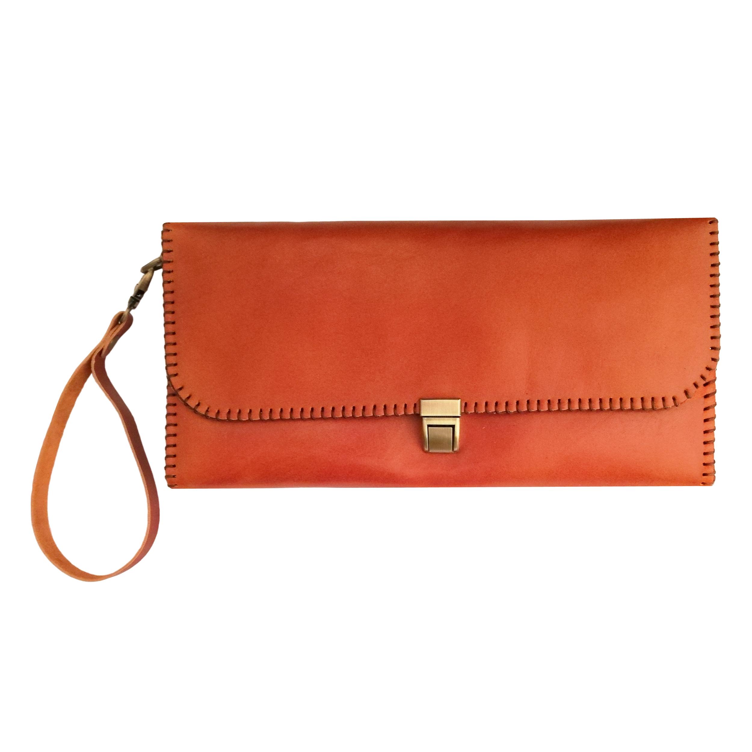 کیف دستی چرمی کد MRK8