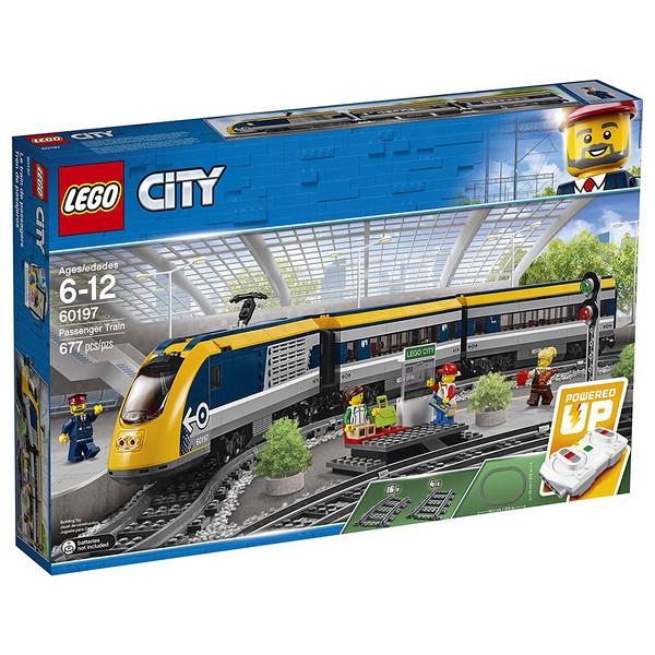 لگو سری City مدل 60197  Passenger Train Building Kit