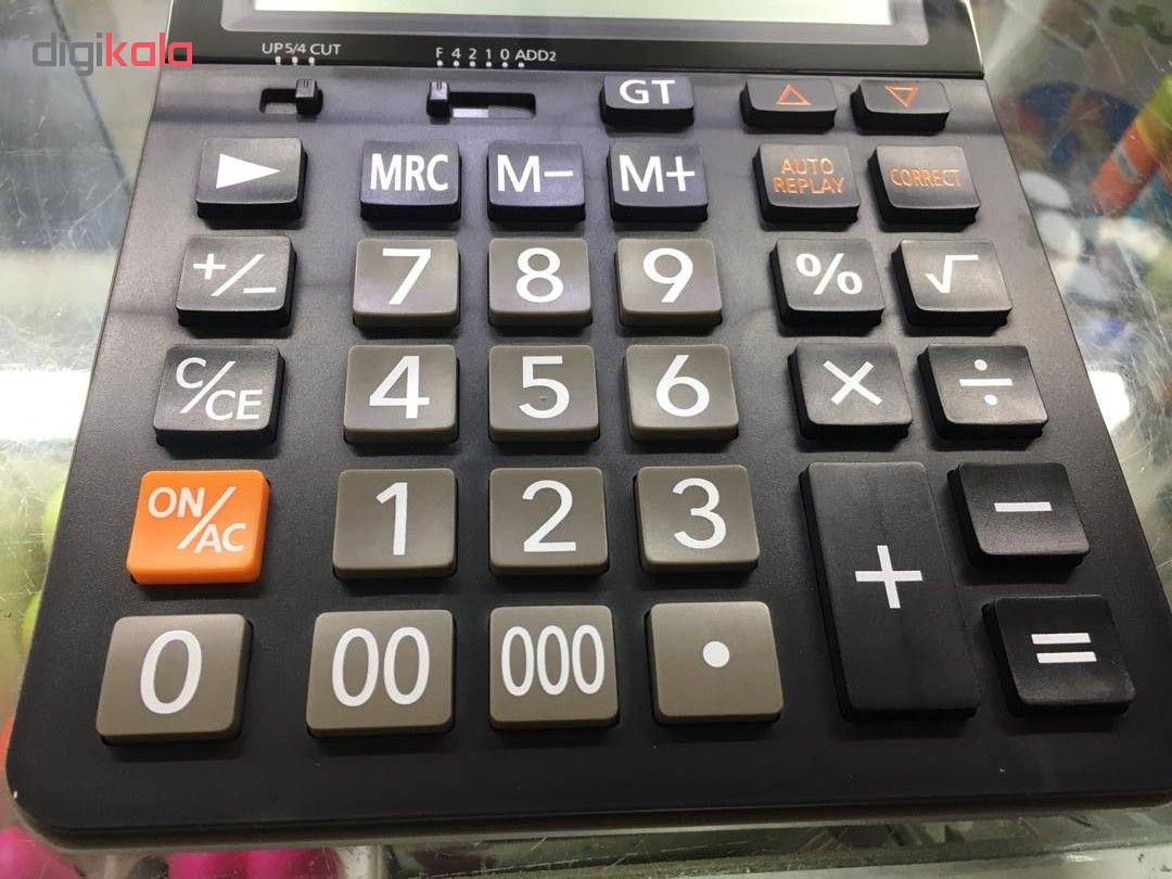 قیمت                      ماشین حساب کاتیگا مدل cd_2752_16rp